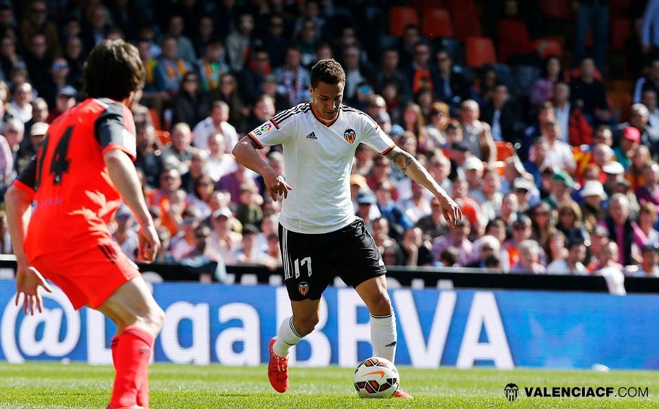 01.03.2015: Valencia CF 2 - 0 Real Sociedad