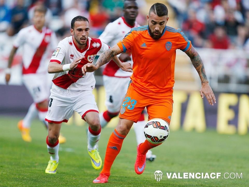 30.04.2015: Rayo Vallecano 1 - 1 Valencia CF