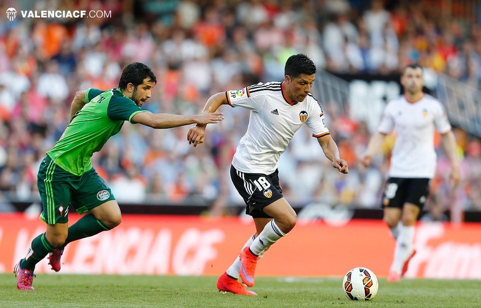 17.05.2015: Valencia CF 1 - 1 Celta de Vigo