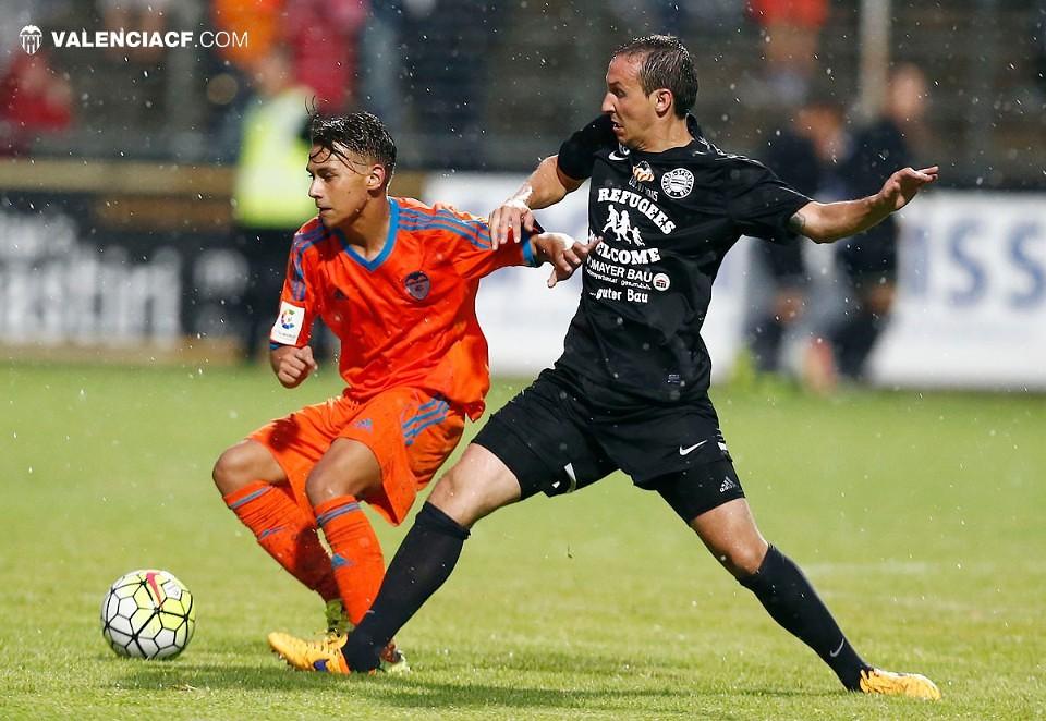 08.07.2015: Wiener SK 0 - 4 Valencia CF