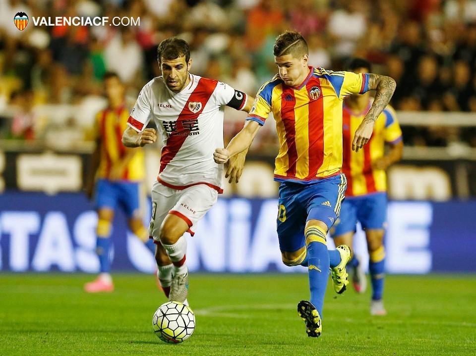21.08.2015: Rayo Vallecano 0 - 0 Valencia CF