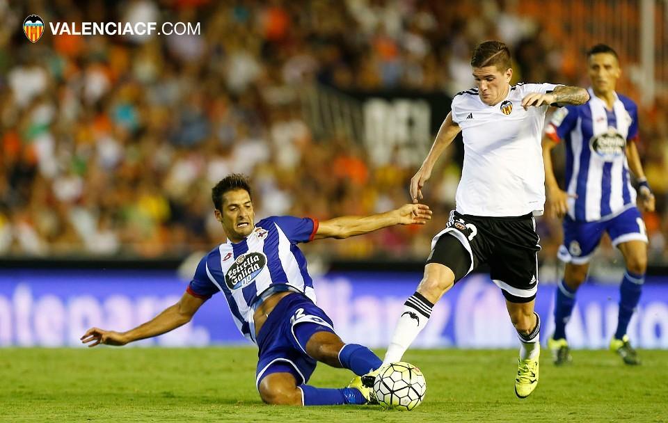 30.08.2015: Valencia CF 1 - 1 Dep. Coruña