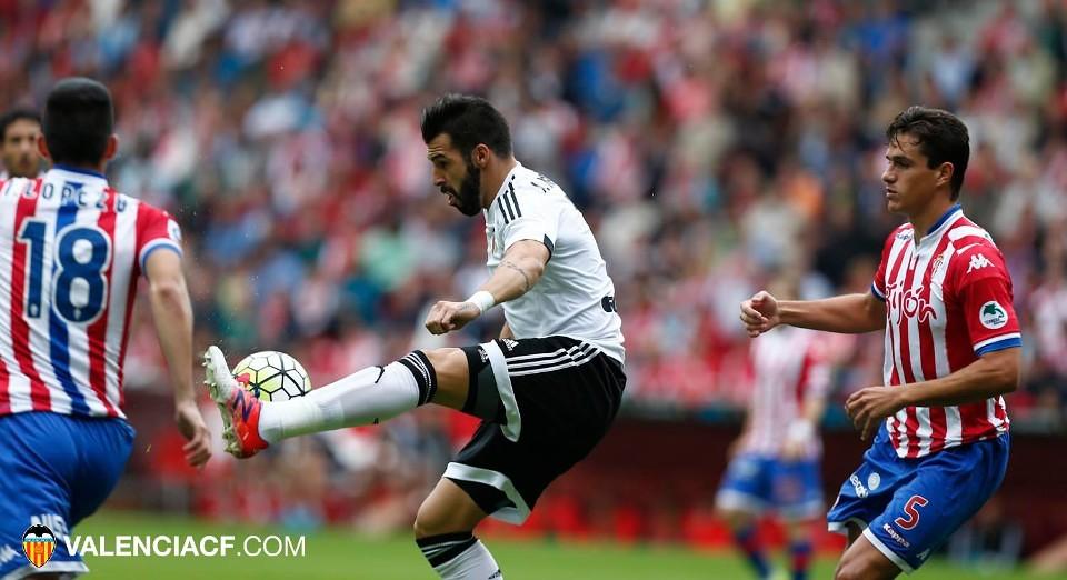 12.09.2015: Sporting Gijón 0 - 1 Valencia CF