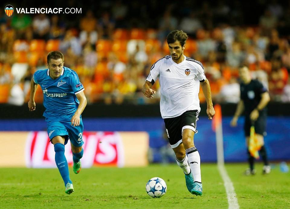 16.09.2015: Valencia CF 2 - 3 Zenit SP