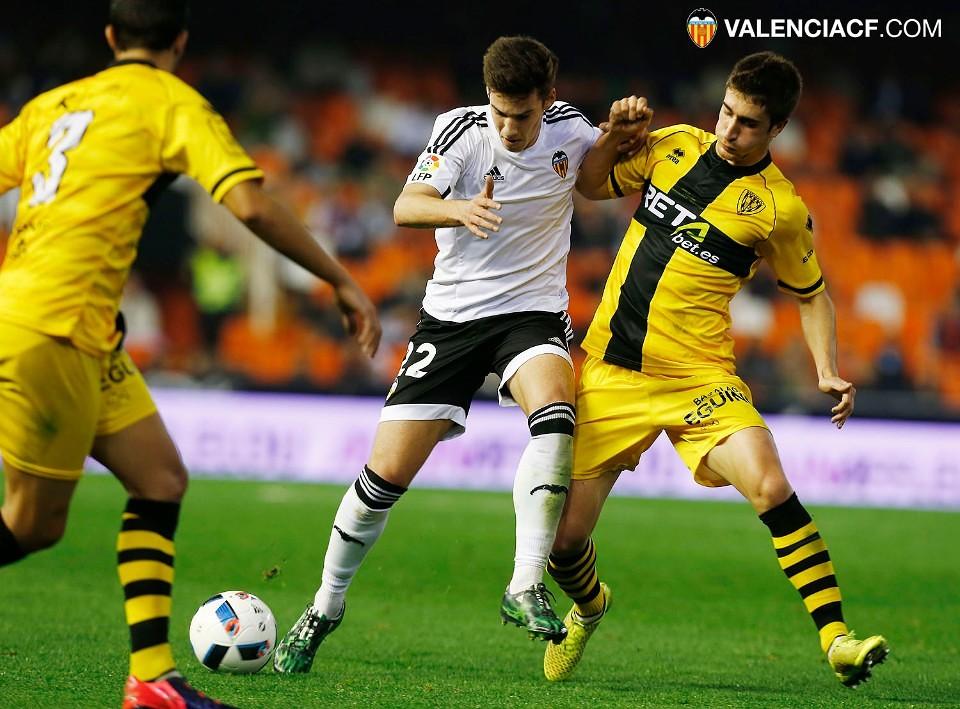 16.12.2015: Valencia CF 2 - 0 Barakaldo CF