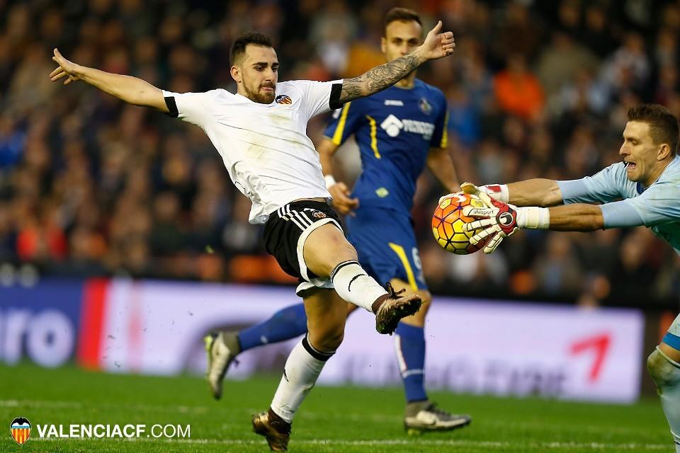 19.12.2015: Valencia CF 2 - 2 Getafe CF