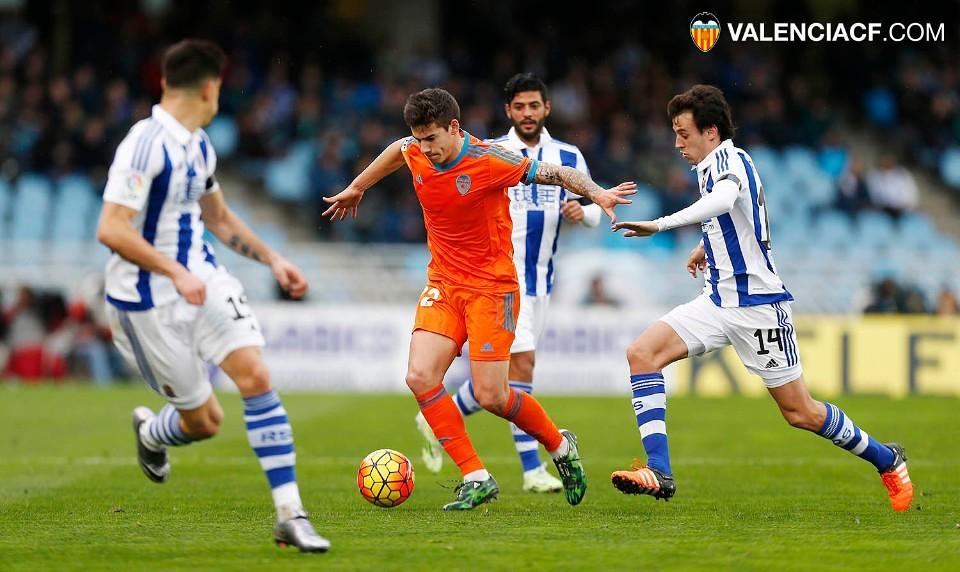 10.01.2016: Real Sociedad 2 - 0 Valencia CF