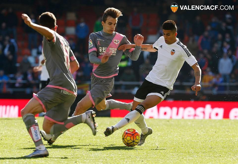 17.01.2016: Valencia CF 2 - 2 Rayo Vallecano