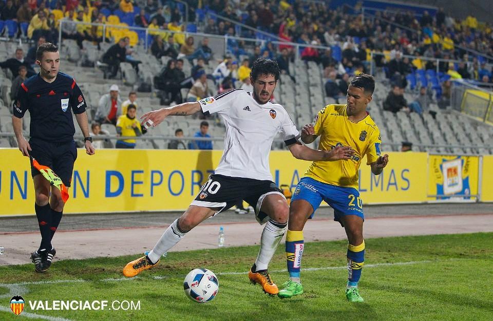 28.01.2016: UD Las Palmas 0 - 1 Valencia CF
