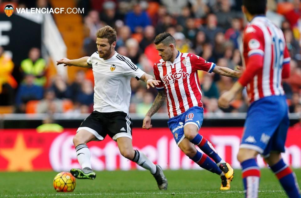 31.01.2016: Valencia CF 0 - 1 Sporting Gijón
