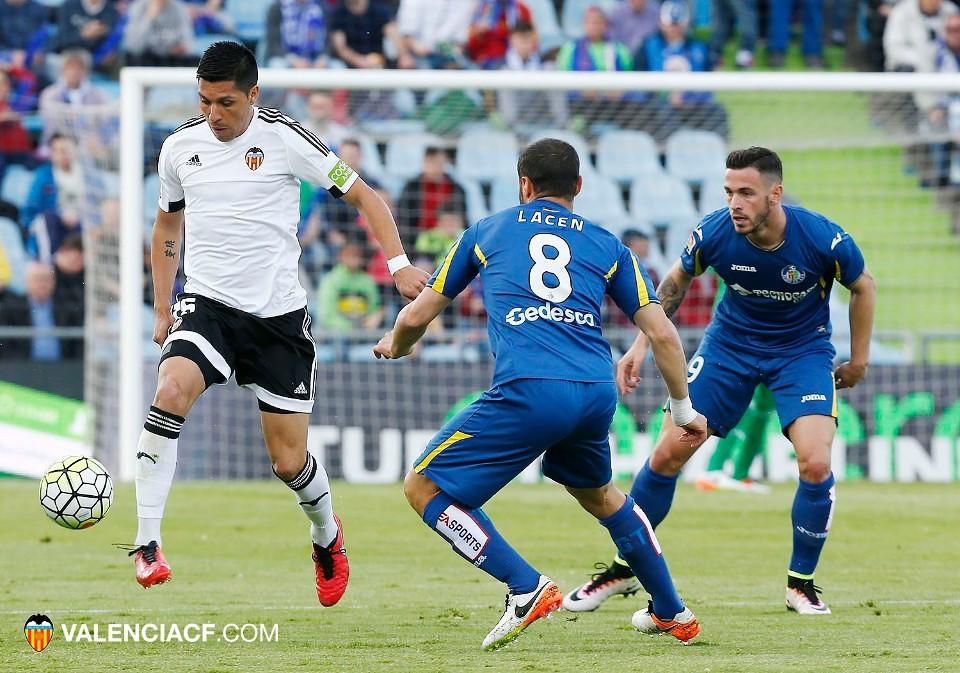 24.04.2016: Getafe CF 2 - 2 Valencia CF