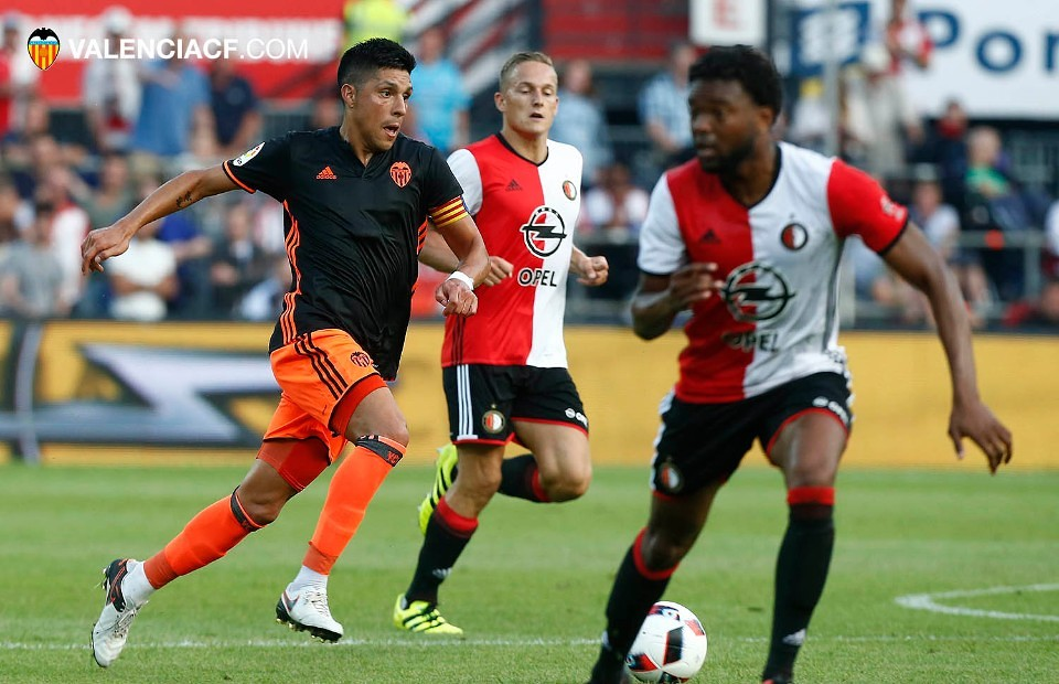 23.07.2016: Feyenoord 2 - 1 Valencia CF