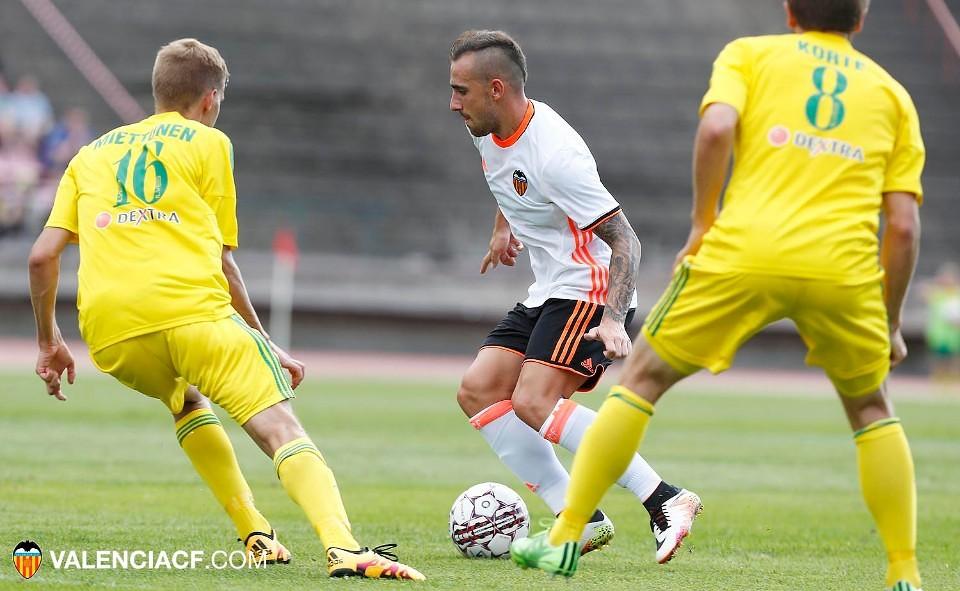 30.07.2016: FC Ilves 1 - 4 Valencia CF