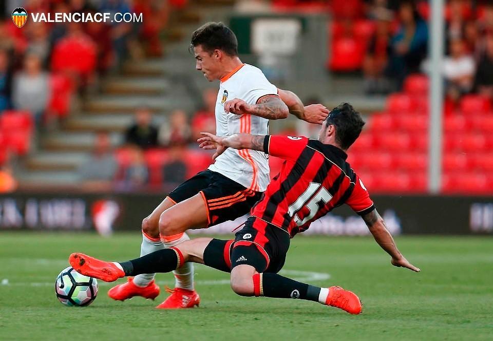 03.08.2016: Bournemouth 1 - 1 Valencia CF