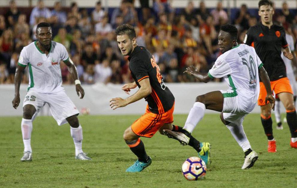 10.08.2016: NPFL All-Stars 1 - 2 Valencia CF