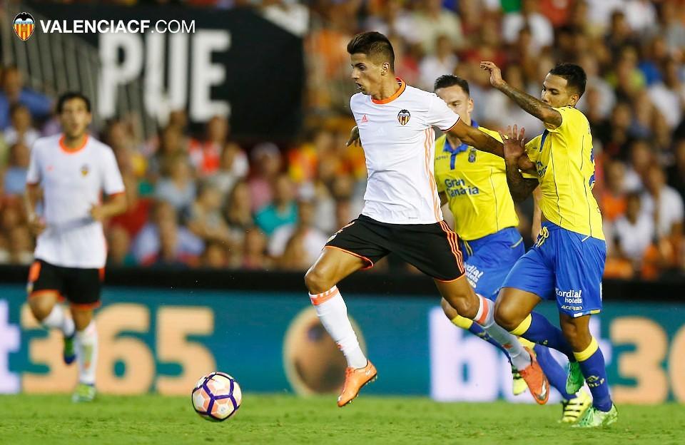 22.08.2016: Valencia CF 2 - 4 UD Las Palmas