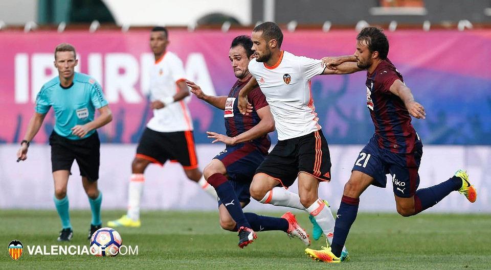 27.08.2016: SD Eibar 1 - 0 Valencia CF