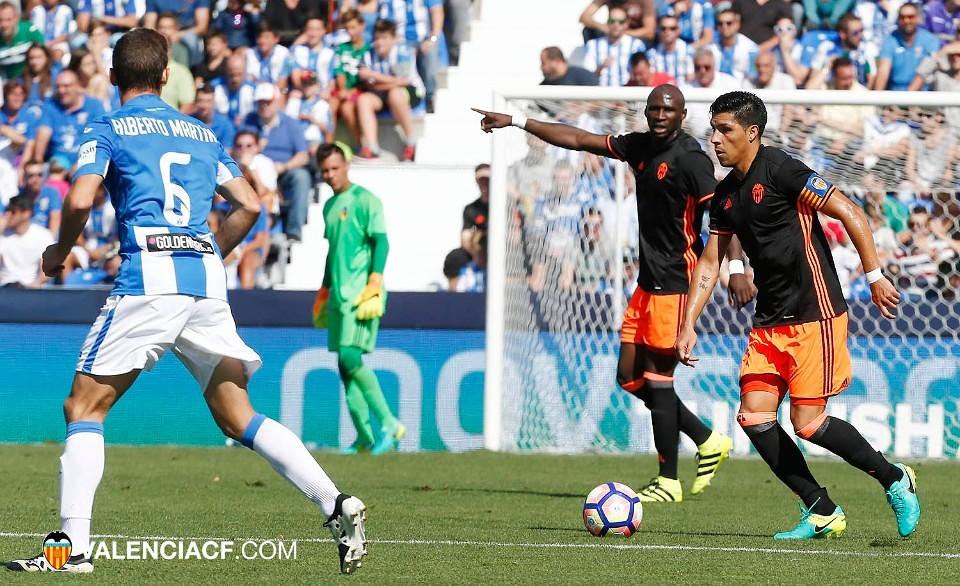 25.09.2016: CD Leganés 1 - 2 Valencia CF