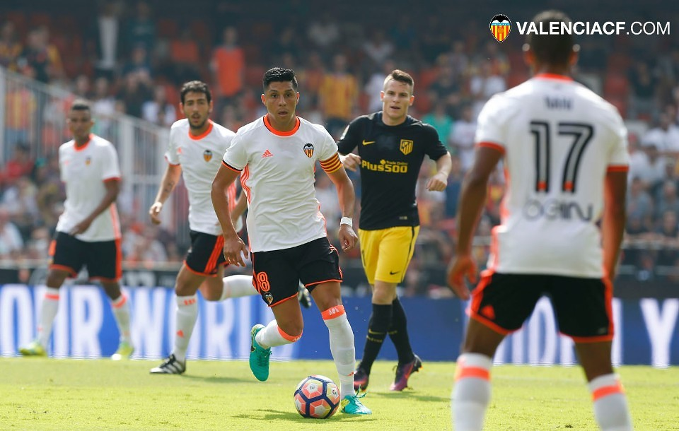 02.10.2016: Valencia CF 0 - 2 At. Madrid