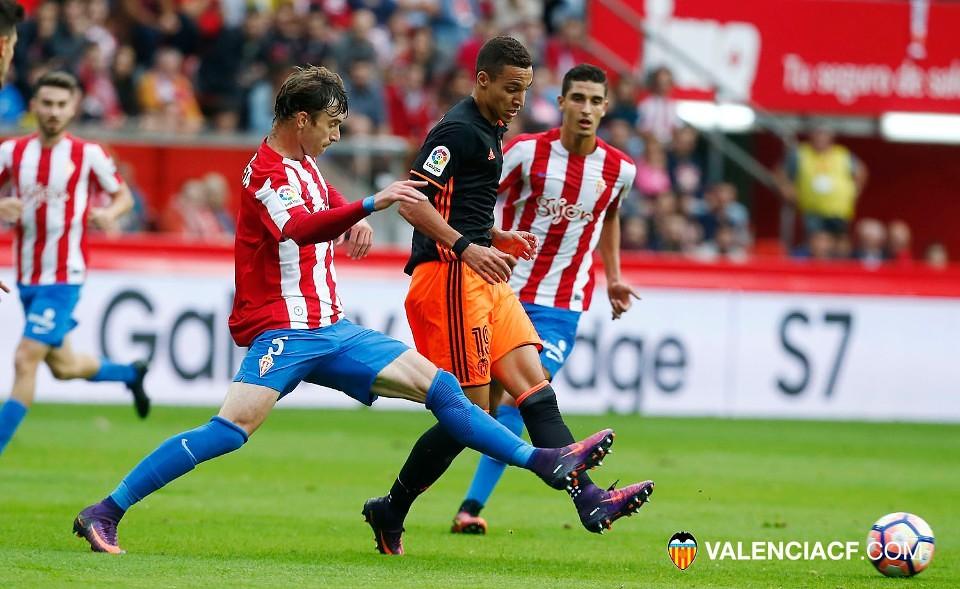 16.10.2016: Sporting Gijón 1 - 2 Valencia CF