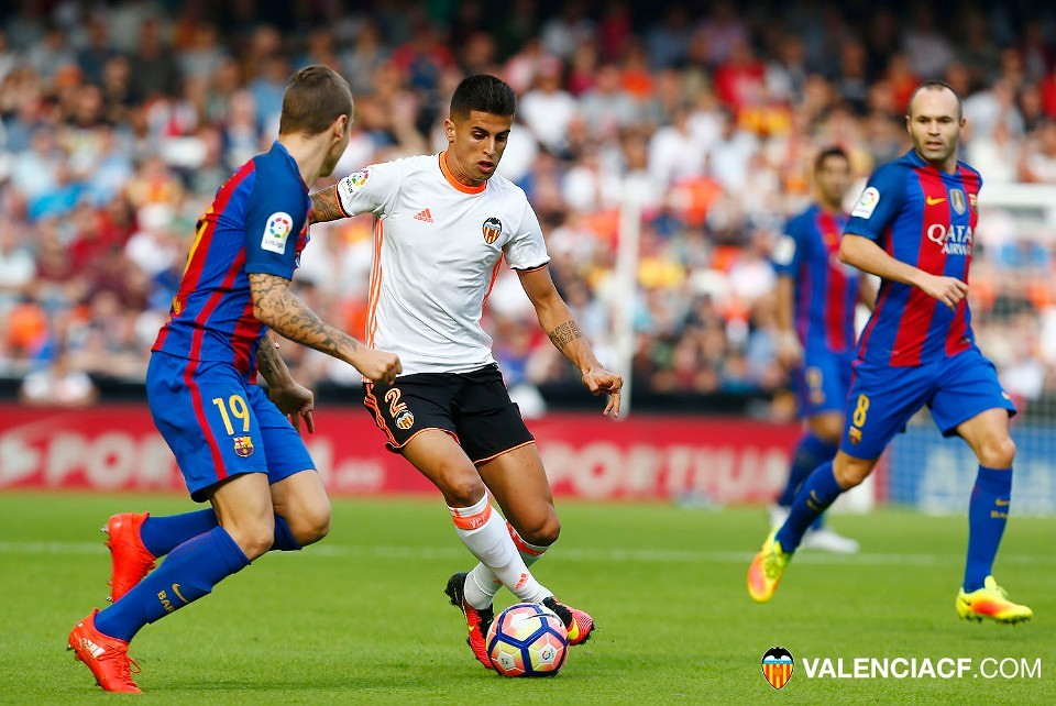 22.10.2016: Valencia CF 2 - 3 FC Barcelona