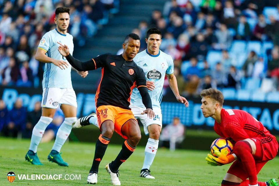06.11.2016: Celta de Vigo 2 - 1 Valencia CF