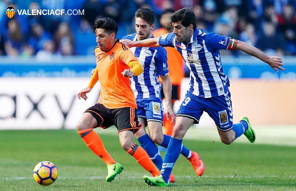 25.02.2017: Dep. Alavés 2 - 1 Valencia CF