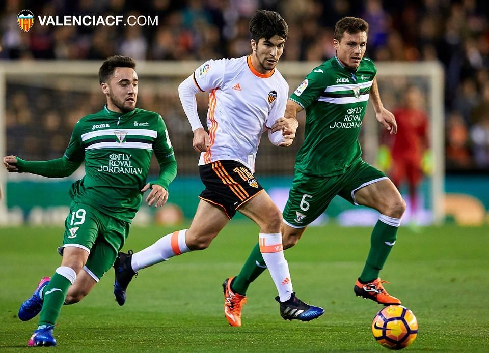 28.02.2017: Valencia CF 1 - 0 CD Leganés