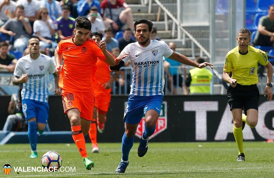 22.04.2017: Málaga CF 2 - 0 Valencia CF