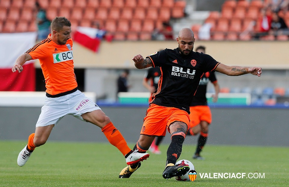 11.07.2017: Lausanne 0 - 5 Valencia CF