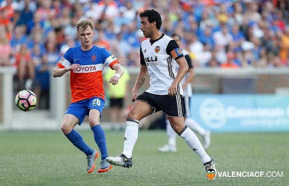 24.07.2017: FC Cincinnati 0 - 2 Valencia CF