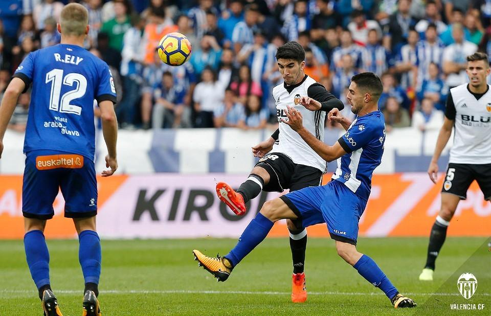 28.10.2017: Dep. Alavés 1 - 2 Valencia CF