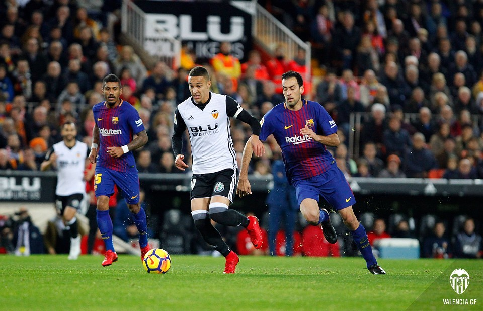 26.11.2017: Valencia CF 1 - 1 FC Barcelona