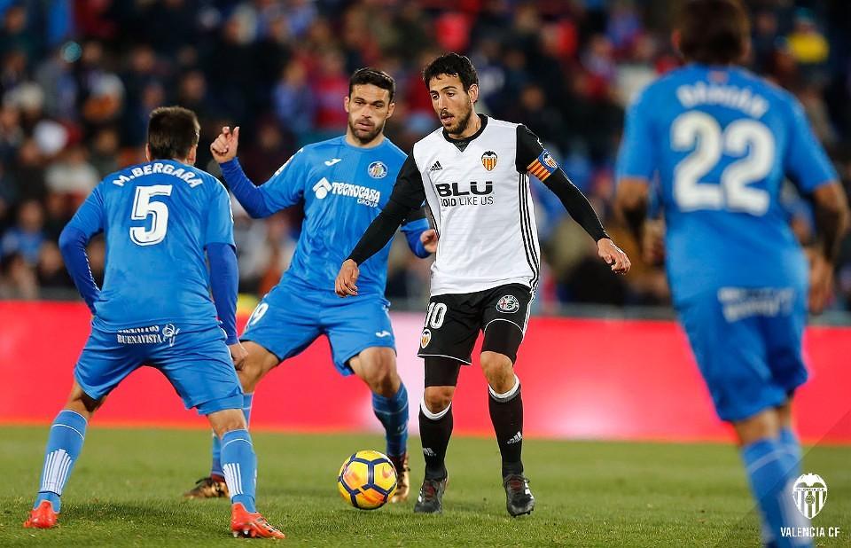 03.12.2017: Getafe CF 1 - 0 Valencia CF