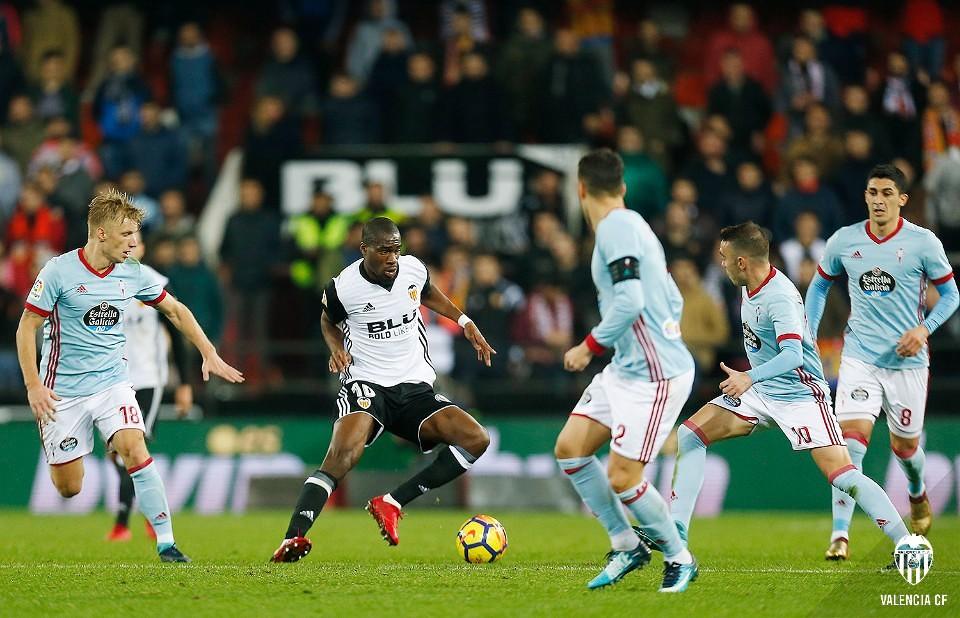 09.12.2017: Valencia CF 2 - 1 Celta de Vigo
