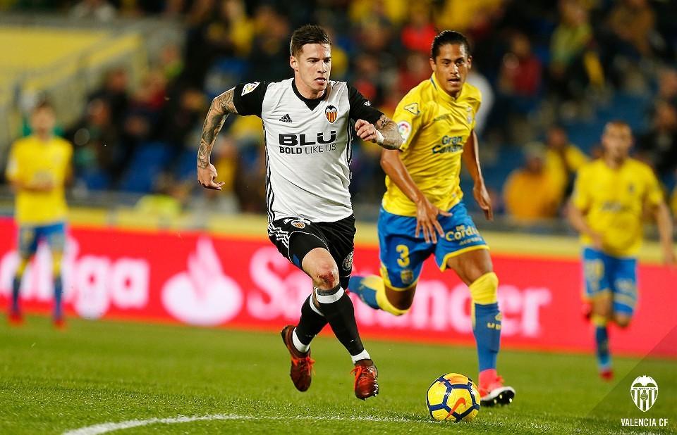 20.01.2018: UD Las Palmas 2 - 1 Valencia CF