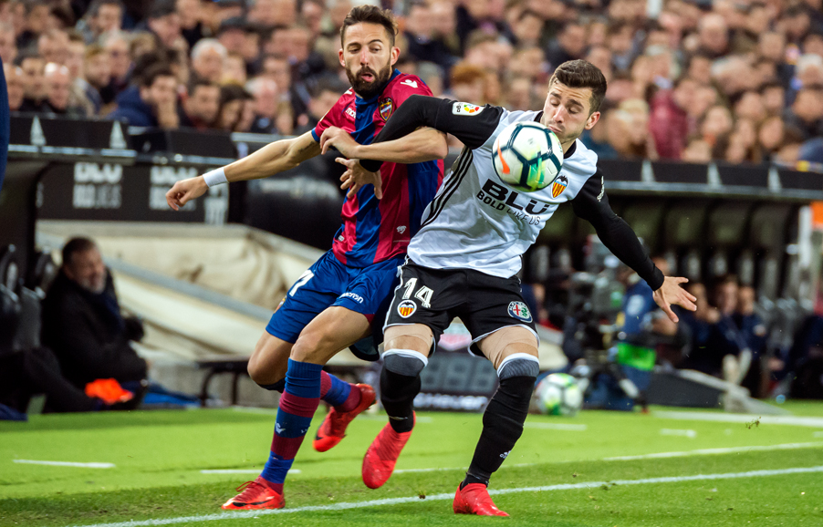 11.02.2018: Valencia CF 3 - 1 Levante UD