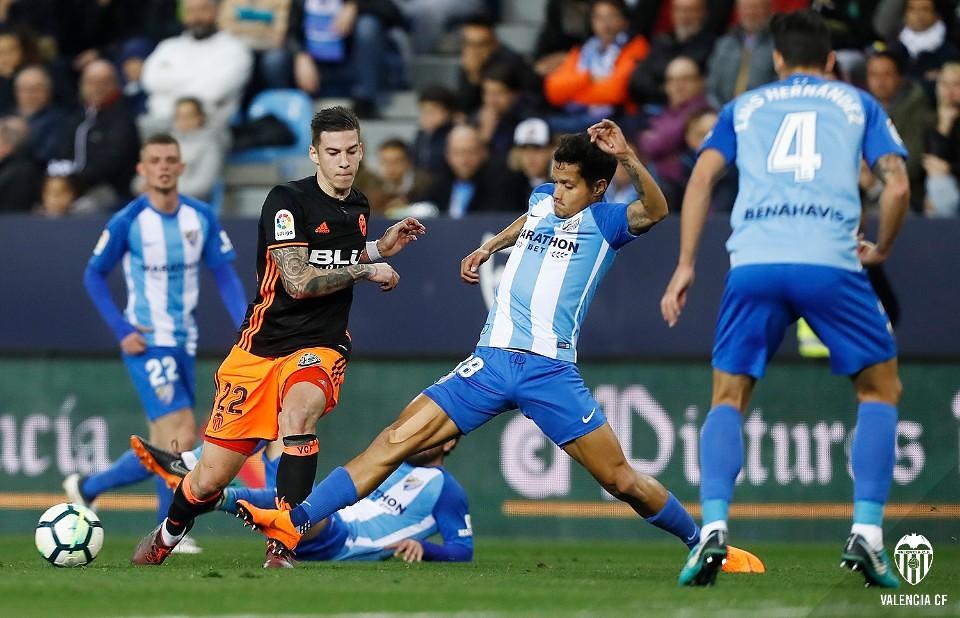 17.02.2018: Málaga CF 1 - 2 Valencia CF