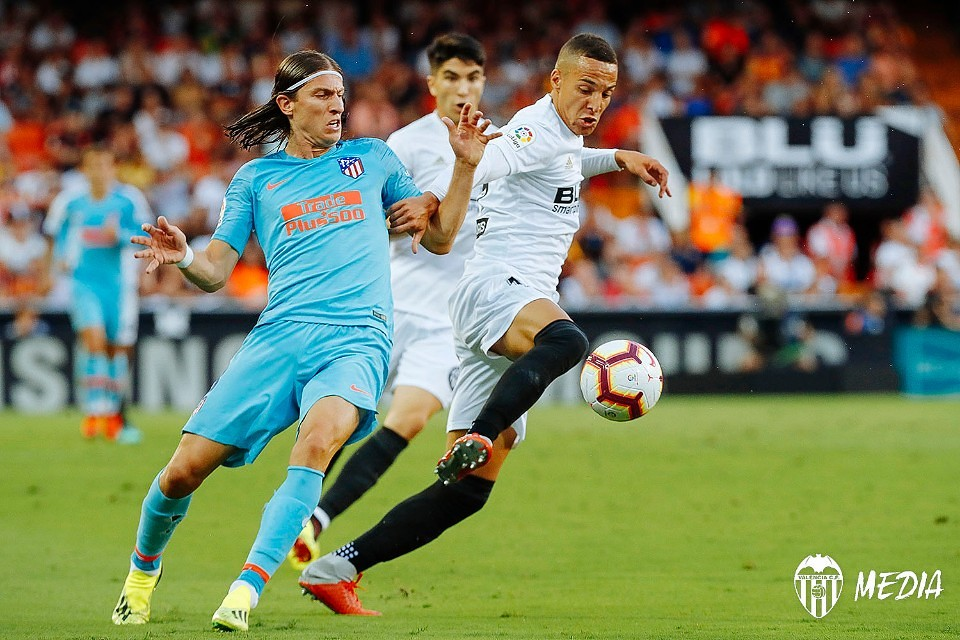 20.08.2018: Valencia CF 1 - 1 At. Madrid