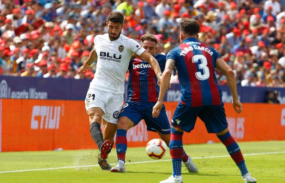 02.09.2018: Levante UD 2 - 2 Valencia CF