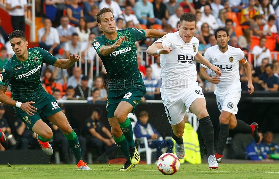 15.09.2018: Valencia CF 0 - 0 Real Betis