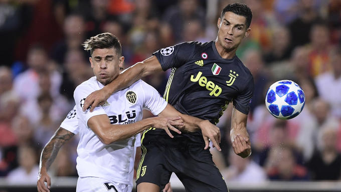19.09.2018: Valencia CF 0 - 2 Juventus