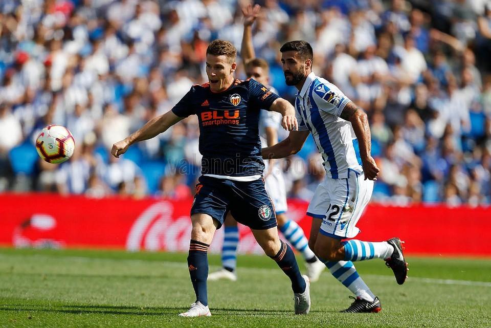 29.09.2018: Real Sociedad 0 - 1 Valencia CF