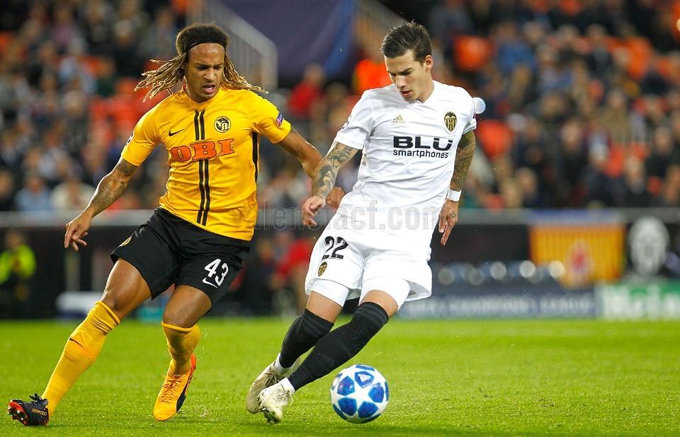 07.11.2018: Valencia CF 3 - 1 BSC Berna