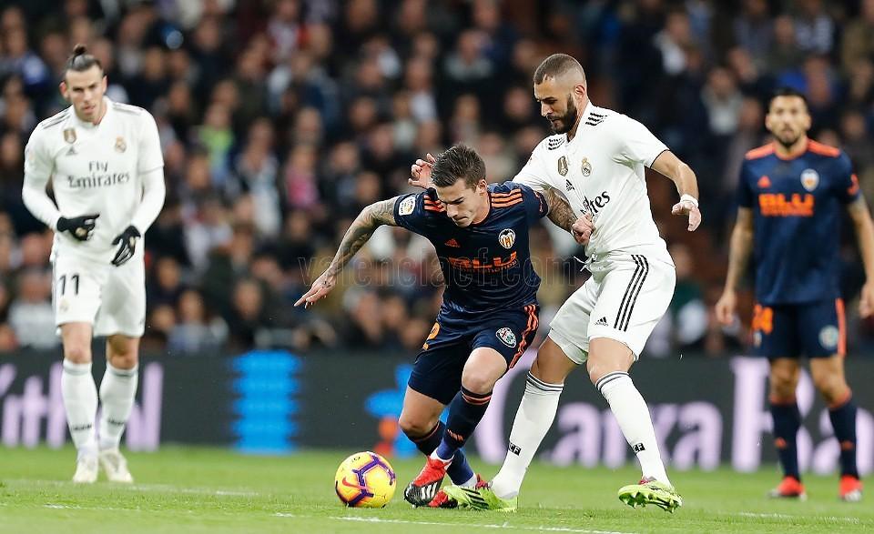 01.12.2018: Real Madrid 2 - 0 Valencia CF