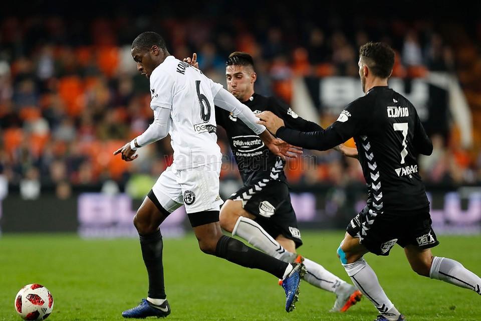 04.12.2018: Valencia CF 1 - 0 CD Ebro