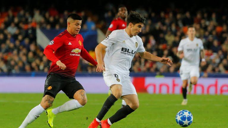 12.12.2018: Valencia CF 2 - 1 Manchester U.