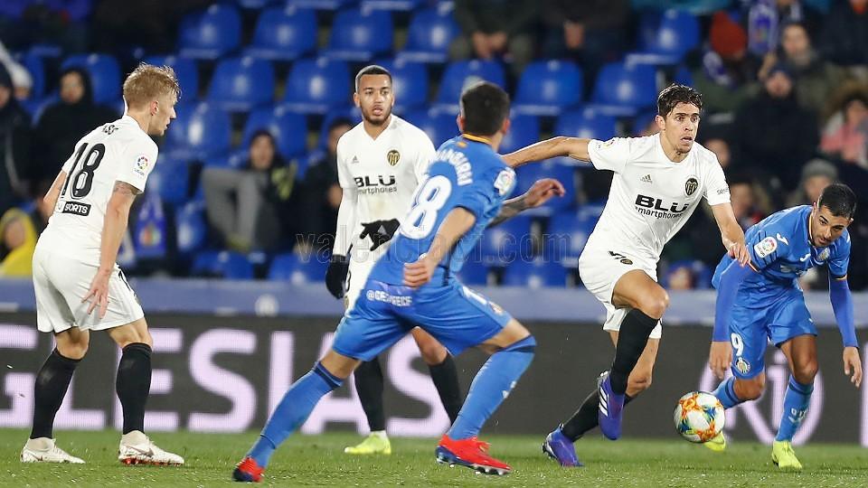 22.01.2019: Getafe CF 1 - 0 Valencia CF