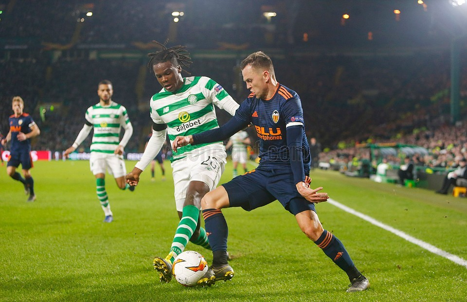 14.02.2019: Celtic Glasgow 0 - 2 Valencia CF