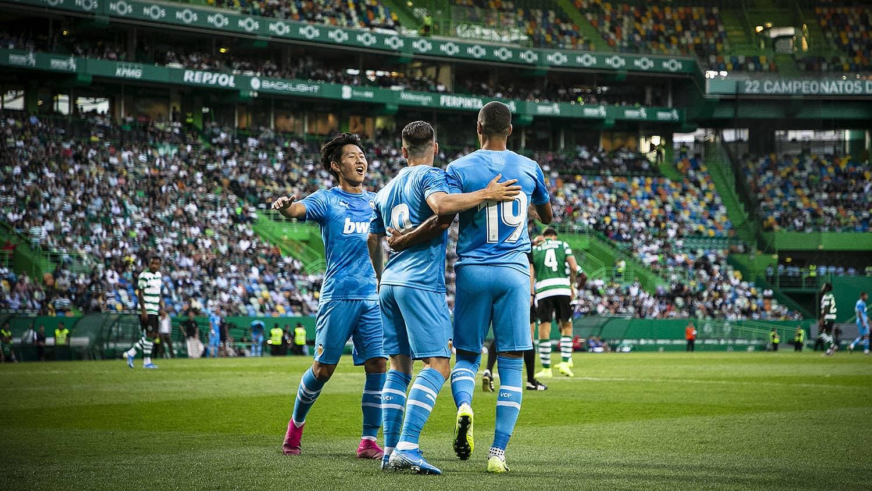 28.07.2019: Sporting Lisboa 1 - 2 Valencia CF